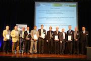 Gewinner des Straßen-Geo-Innovationspreises 2015.