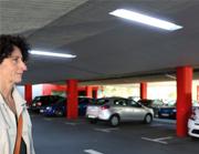 Die LED-Technik eignet sich insbesondere für Straßen und Parkplatzbeleuchtungen.