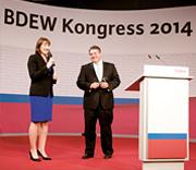 BDEW Kongress: Auch 2015 kann BDEW-Hauptgeschäftsführerin Hildegard Müller Bundeswirtschaftsminister Sigmar Gabriel als Redner begrüßen.