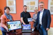 PC, Tablet oder Smartphone – die Webseite der Stadt Wurzen passt sich dank Responsive Design dem Ausgabegerät an.
