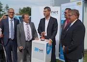 Das Breitband-Netz in der mittelfränkischen Gemeinde Gerhardshofen ist offiziell in Betrieb.