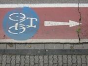 Mängel an Radwegen in Tuttlingen können die Bürger online melden.