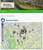 In Mülheim an der Ruhr verorten nicht nur die Stadt, sondern auch die Bürger online.