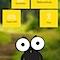 Die Eule Äugen ist das Maskottchen für Naturschutzaktionen in Sachsen, für die auch die App entwickelt wurde.