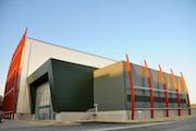 Heizkraftwerk in Plymouth erzeugt Energie in Kraft-Wärme-Kopplung.