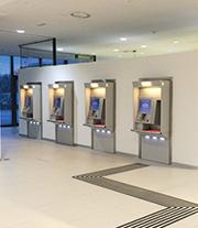 Die Ansprüche Vieler erfüllen die Automaten im Service-Center von Wiener Wohnen.