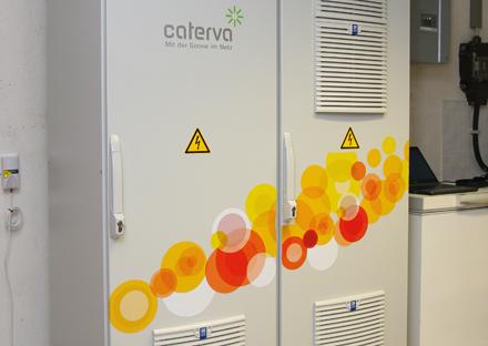 Im Rahmen des Pilotprojekts SWARM wurden über 65 Energie-Speicher-Systeme installiert.