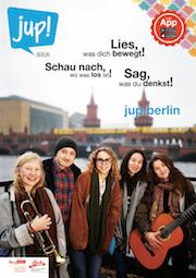 Die Online-Plattform jup! Berlin bündelt Jugendinformation, die Arbeit einer Jugendredaktion und Online-Beteiligung.