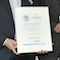 Auszeichnungsfeier des bayerischen Umweltnetzwerks für das innovative Nahwärmenetz der Gemeinde Dollnstein.