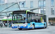 Die Stadtbusse in Schweinfurt können künftig mit E-Ticket benutzt werden.