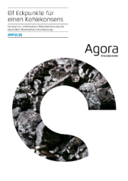 Die Organisation Agora Energiewende hat ein Eckpunktepapier für einen Kohlekonsens erarbeitet.