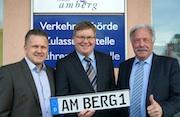 Ein neues Kfz-Facherfahren unterstützt die örtliche Zulassungsbehörde in Amberg bei der täglichen Arbeit.