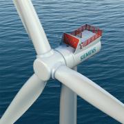 Die Siemens Offshore-Windturbine SWT-7.0-154 erzeugt jährlich etwa 32 Millionen Kilowattstunden Strom, womit circa 7.000 Haushalte versorgt werden können.