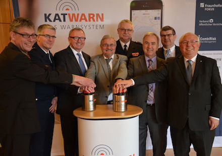 KATWARN warnt in den Landkreisen Alzey-Worms und Mainz-Bingen.