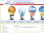 Der Energiewegweiser des Kreises Harburg im Internet.
