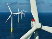 Der erste rein kommunale Offshore-Windpark in der Nordsee ist mit 40 Anlagen und einer Leistung von 200 Megawatt in Betrieb gegangen.