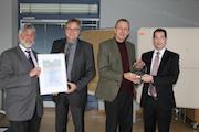 Der Wetteraukreis und IT-Eigenbetrieb WEBIT sind Gewinner des Infoma Innovationspreises 2015.