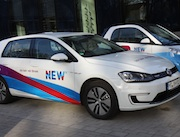 Das Unternehmen NEW bietet einen eigenen Stromtarif für Elektroautos an.