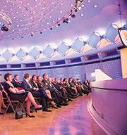 BCC: Bald wieder Treffpunkt für Spitzen aus Politik, Verwaltung und Wirtschaft.