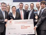 Die daheim-App der Thüga hat im Wettbewerb um den Energy App Award überzeugt.