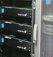 Im Rechenzentrum von Celle-Uelzen Netz sind zwölf OmniCubes von SimpliVity im Einsatz.