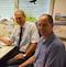 Volker Barrmeyer (l.) und Peter Diekmann freuen sich über das neue Tool, die Online-Anhörung im Kreis Herford.