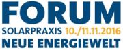 Das Forum Neue Energiewelt findet in diesem Jahr vom 10. bis 11. November  im Maritim ProArte in Berlin statt.