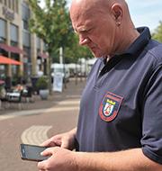 Siegburg: Knöllchen können mobil eingepflegt werden.