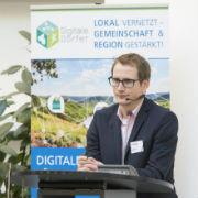 Digitale-Dörfer-Projektleiter Steffen Hess: Die Bereitschaft, sich über digitale Lösungen zu vernetzen und sich in der Gemeinschaft unentgeltlich einzubringen, ist ausgesprochen groß.
