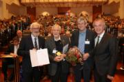 Prominenz auf dem Geothermiekongress in Essen: