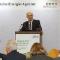 Andreas Kuhlmann, Vorsitzender der dena-Geschäftsführung, stellt das Branchenbarometer Biomethan auf der biogas-Jahrespartnerkonferenz vor.