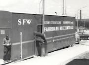 Mobile Heizzentrale: Die Fernwärme in Winnenden startete bereits im Jahr 1964.