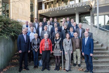 ALKIS-Kooperation im Ruhrgebiet: Während einer gemeinsamen Feierstunde wurde die Arbeit der vergangenen zehn Jahre gewürdigt.