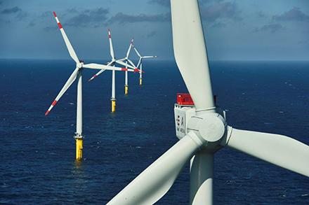 Der Trianel Windpark Borkum ging im Dezember 2015 in Betrieb. Die zweite Ausbaustufe soll bald folgen.