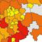 Anzahl der Geothermieanlagen in Nordrhein-Westfalen (Stand: 2015) und ihr Deckungsanteil am Wärmebedarf.