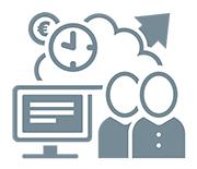 Mit Cloud-Diensten effizienter werden und Kosten sparen.