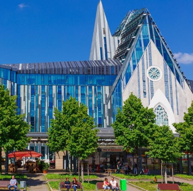 Die Website der Universität Leipzig wird überarbeitet.