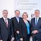 Blicken auf eine erfolgreiche Zusammenarbeit zurück: Vertreter der Länder Baden-Württemberg, Hessen und Rheinland-Pfalz sowie der Metropolregion Rhein- Neckar.