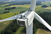 Der Naturstrom-Windpark zwischen Scheßlitz und Königsfeld wurde um vier Anlagen erweitert.