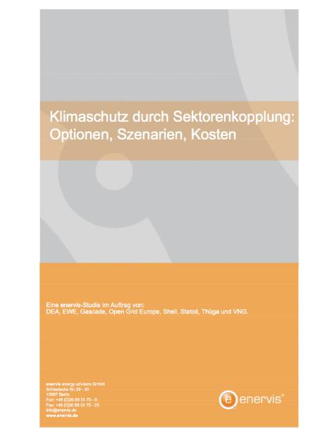 Die Studie untersucht verschiedene Pfade zur Sektorenkopplung und stellt dabei den Kohleausstieg, die Vollelektrifizierung und Strom zu Gas in den Mittelpunkt.