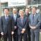 Vertreter der sieben Stadtwerke-Kommunen und die Geschäftsführung der Stadtwerke Tecklenburger Land führten einen regen Austausch mit der Delegation aus Japan.
