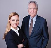 Peter Häußler und Tochter Dr. Sibylle Häußler.