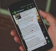 Die Stadt Bocholt informiert jetzt auch per WhatsApp.