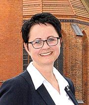 Perlebergs Bürgermeisterin Annett Jura.
