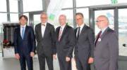 Das Unternehmen BayWa r.e. hat jetzt im Beisein von Gästen den neuen Abschnitt des Solarparks Barth in Betrieb genommen.