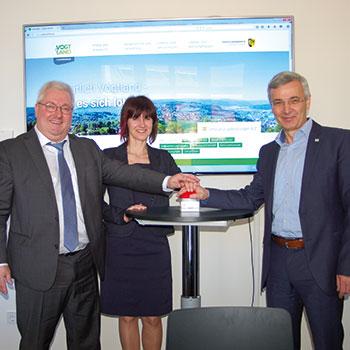 Start der neuen Website des Vogtlandkreises.