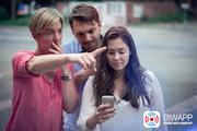 Als Warn-App für die Bevölkerung setzt der Kreis Harburg die Anwendung BIWAPP ein.