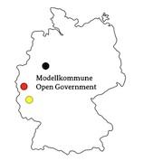 Köln, Bonn, Moers, Oldenburg, Merzenich, Tengen, Brandis, der Saalekreis und der Kreis Maarburg-Biedenkopf sind die Open-Government-Modellkommunen.