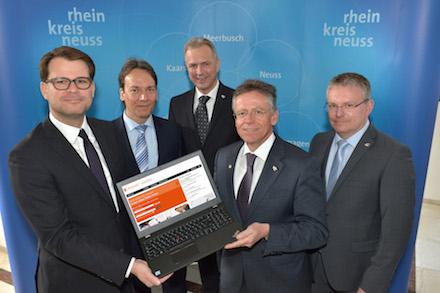 Der Startschuss für das Online-Bewerberportal im Rhein-Kreis Neuss ist gefallen.