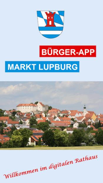 Per Lupburg-App digital ins Rathaus.
